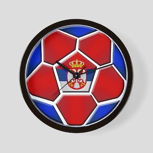 Serbia Football Wall Clock
