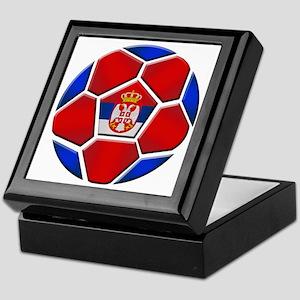Serbia Football Keepsake Box