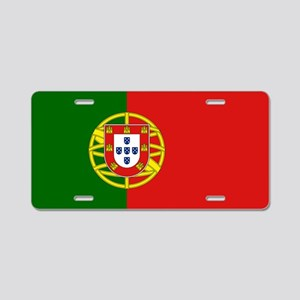 Portuguese Flag Aluminum License Plate
