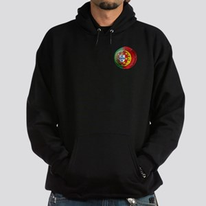 Portuguese Soccer Ball Hoodie (dark)
