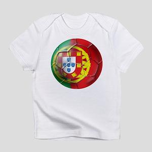 Portuguese Soccer Ball Infant T-Shirt