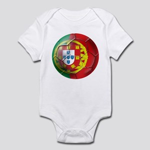 Portuguese Soccer Ball Infant Bodysuit