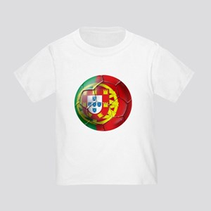 Portuguese Soccer Ball Toddler T-Shirt