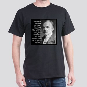 Hardy Emotion Quote 2 Dark T-Shirt