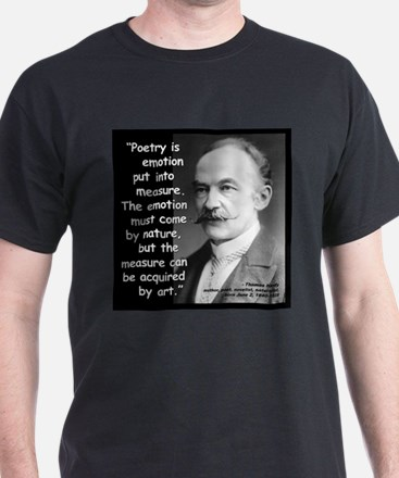 Hardy Emotion Quote 2 T-Shirt