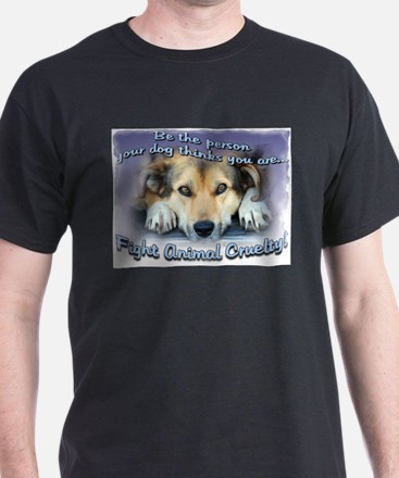 Cute Stand against animal abuse T-Shirt