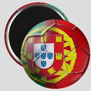 Portuguese Soccer Ball Magnet