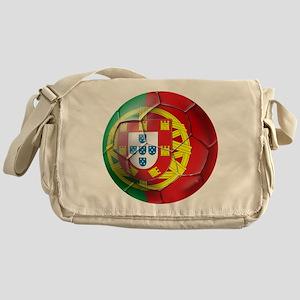 Portuguese Soccer Ball Messenger Bag