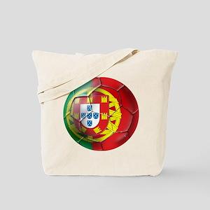 Portuguese Soccer Ball Tote Bag