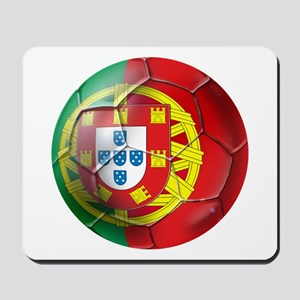 Portuguese Soccer Ball Mousepad