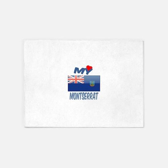 My Love Montserrat 5'x7'Area Rug