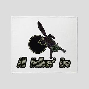 allhallows_2 Throw Blanket