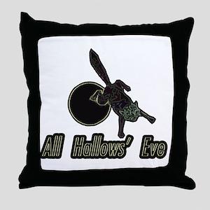 allhallows_2 Throw Pillow