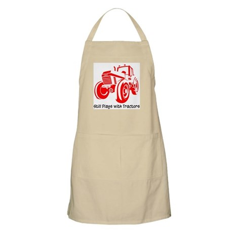 Red Tractor BBQ Apron