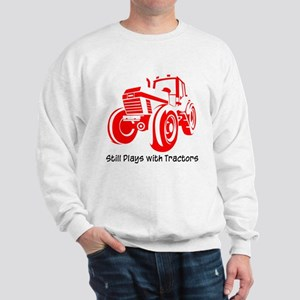 Red Tractor Sweatshirt