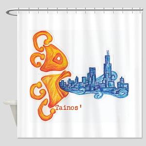 Tainos Windy City Shower Curtain