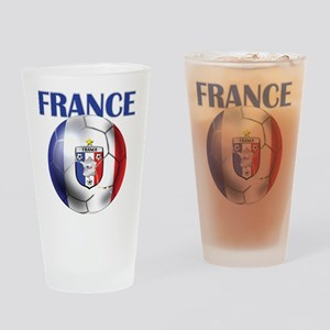 France French Football Drinking Glass