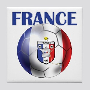 France French Football Tile Coaster
