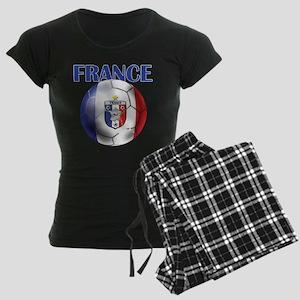 France French Football Women's Dark Pajamas
