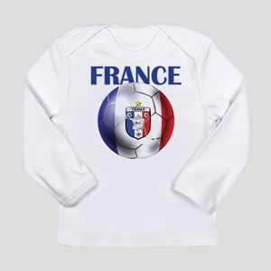 France French Football Long Sleeve Infant T-Shirt