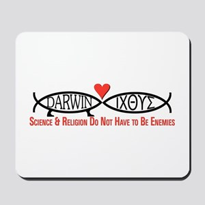 Science & Religion Mousepad