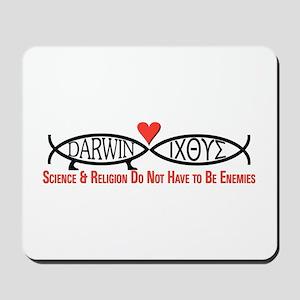 Science & Religion Mousepad