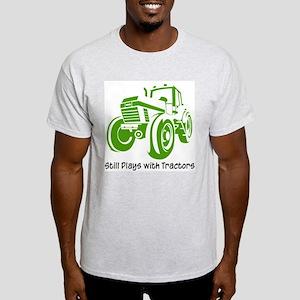 Green Tractor Light T-Shirt