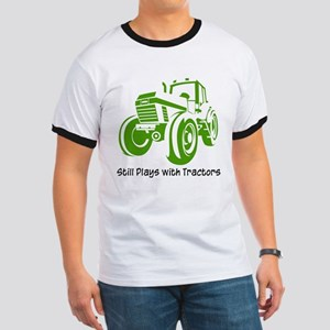 Green Tractor Ringer T