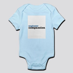 Engineer Compassion Gear Infant Bodysuit