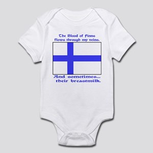 Finnish Breast Milk Infant Bodysuit