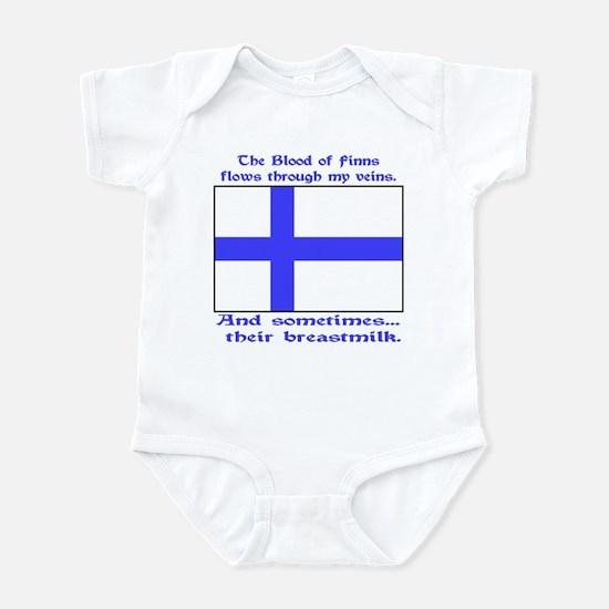 Finnish Breast Milk Infant Bodysuit
