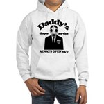 Daddys Diaper Service Hooded Sweatshirt