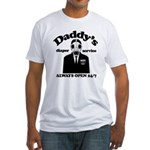 Daddys Diaper Service Fitted T-Shirt