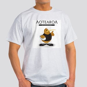 Kowari-Aotearoa Ash Grey T-Shirt