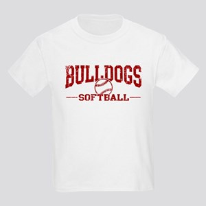 Bulldogs Softball Kids Light T-Shirt
