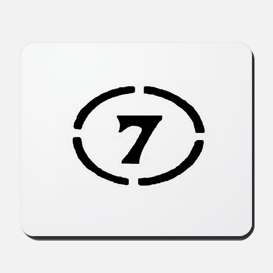 Circle Seven Mousepad