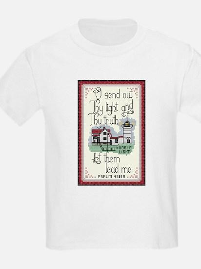 Nubble Lighthouse, York, Maine. T-Shirt
