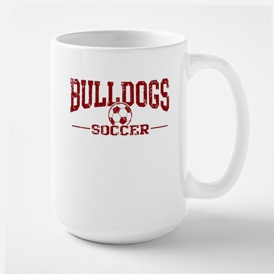 Bulldogs Soccer Large Mug