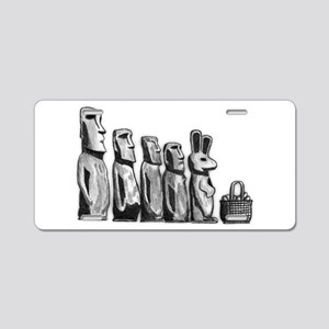 Easter Island Aluminum License Plate