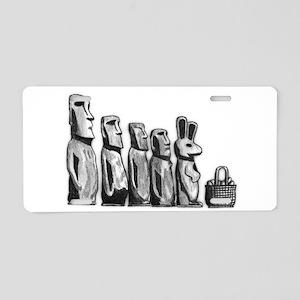 Easter Island Aluminum License Plate