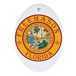 Florida Freemasons Ornament (Oval)