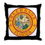 Florida Freemasons Throw Pillow