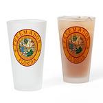 Florida Freemasons Drinking Glass