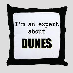 Im an expert about DUNES Throw Pillow