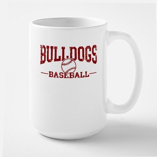 Bulldogs Baseball Large Mug