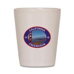 CALIFMASON copy Shot Glass