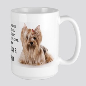 Yorkie Dad Large Mug