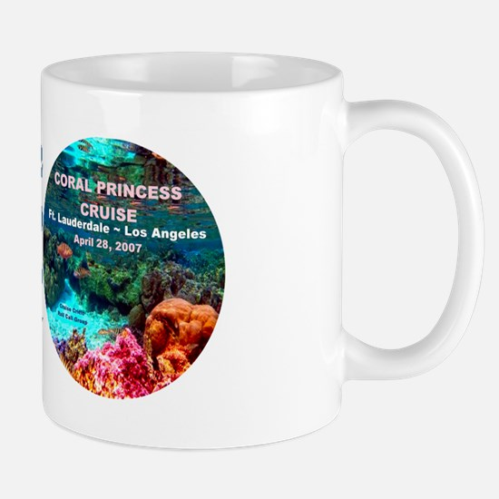 Coral Princess FLL-LA 2007 Mug