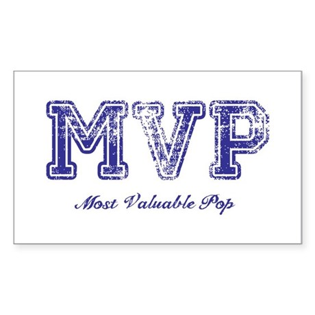 Most Valuable Pop – MVP – Violet – Sticker (Rectan