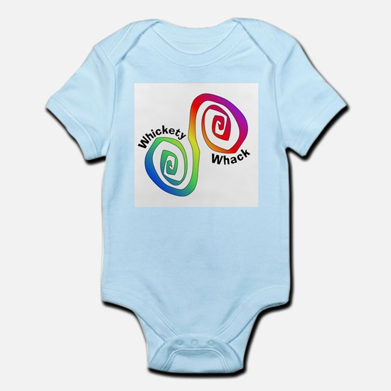 Rainbow Whickety Whack Infant Creeper